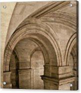 New York Library Acrylic Print
