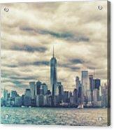 New York Lightleak Acrylic Print