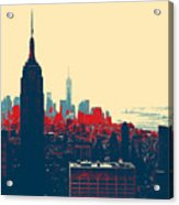 New York Manhattan Acrylic Print