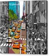 New York Midtown 123 Acrylic Print