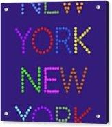 New York No 5  Acrylic Print
