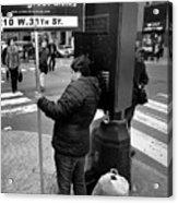 New York, New York 3 Acrylic Print
