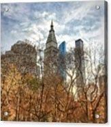 New York, New York Acrylic Print