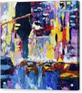 New York - New York Acrylic Print