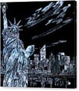 New York New York New York  Acrylic Print