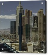 New York New York View 2 Acrylic Print