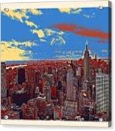 New York Ny Acrylic Print