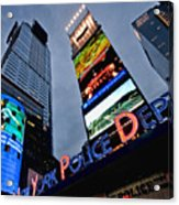 New York Police Department Acrylic Print