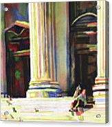 New York Public Library Acrylic Print