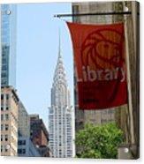 New York Scene Acrylic Print