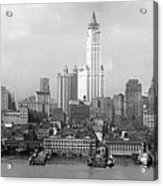 New York Skyline From Brooklyn  Acrylic Print