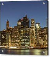 New York Skyline Panorama - 2 Acrylic Print