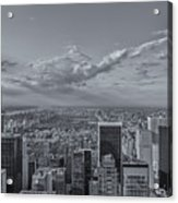 New York Skyline - View On Central Park - 2 Acrylic Print