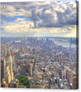 New York State Of Mind   High Definition Acrylic Print by Mandy Wiltse