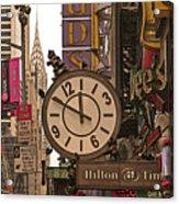 New York State Of Mind Acrylic Print