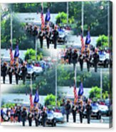 New York State Police Color Guard  1 Acrylic Print