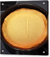 New York Style Cheesecake Acrylic Print