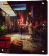 New York Summer Nights Acrylic Print