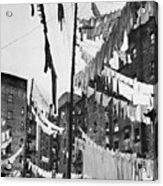 New York: Tenement, 1936 Acrylic Print