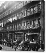 New York: Tenements, 1912 Acrylic Print by Granger