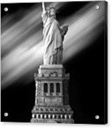 New York Time Acrylic Print