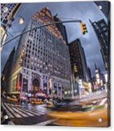 New York Time Square  Acrylic Print