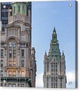 New York Woolworth Building  Acrylic Print