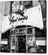 new york yankees club house store New York City USA Acrylic Print