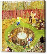 New Yorker April 23 1949 Acrylic Print
