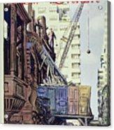 New Yorker April 27 1957 Acrylic Print