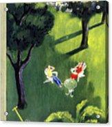 New Yorker August 12 1950 Acrylic Print