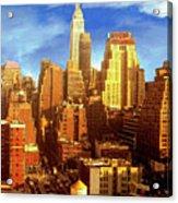 New Yorker Acrylic Print