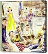New Yorker January 7, 1950 Acrylic Print