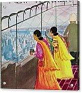 New Yorker July 22 1961 Acrylic Print