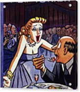 New Yorker June 5 1954 Acrylic Print