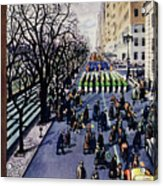 New Yorker March 14 1953 Acrylic Print