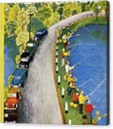 New Yorker May 22 1954 Acrylic Print