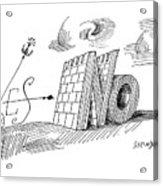 New Yorker May 28th, 1960 Acrylic Print