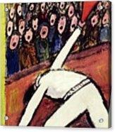 New Yorker October 14 1950 Acrylic Print