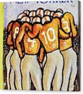 New Yorker October 25 1958 Acrylic Print
