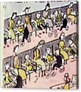 New Yorker September 10 1949 Acrylic Print
