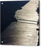 New York's East River Acrylic Print
