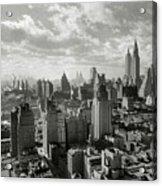 New Your City Skyline Acrylic Print