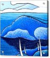 New Zealand Bay Acrylic Print