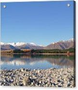 New Zealand Lake Acrylic Print