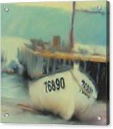 Newfoundland Fishing Port Impressions Acrylic Print