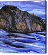 Newfoundland Oil Painting Acrylic Print