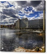 Newmarket Nh Acrylic Print by Eric Gendron