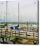 Newport Bay And Balboa Island Acrylic Print