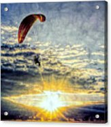 Newport Beach High Flyer Acrylic Print